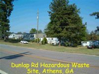 Dunlap Rd Hazardous Site
